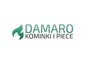 kominki i piece damaro logo wkłady kominkowe i kominki