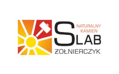 logo SLAB Żołnierczyk naturalny kamień firma kamieniarska kamieniarz rybnik