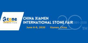 XIAMEN STONE FAIR 2020 targi kamieniarskie w chinach w Xiamen czerwiec 6 do 9 2020 roku
