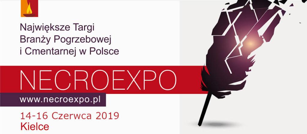Targi pogrzebowe NECROEXPO 2019 14-16 czerwca Kielce największe targi pogrzebowe w polsce