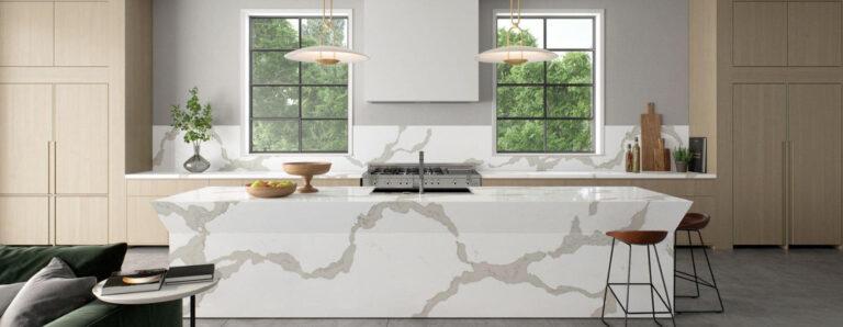 Caesarstone calacatta maximus modern nowy kamień